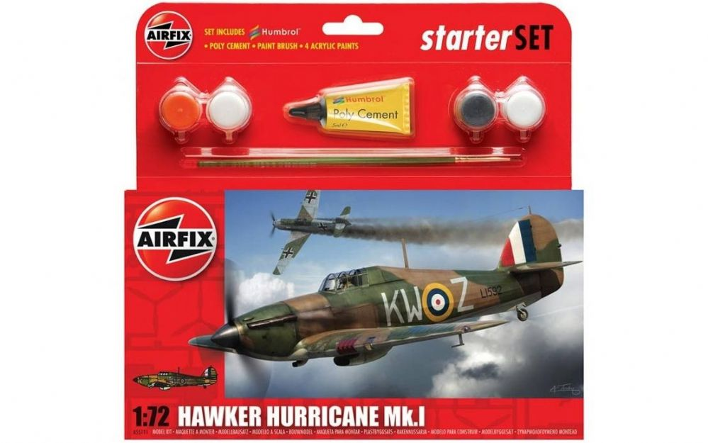 A55111 Small Starter Set - Hawker Hurricane Mk.I
